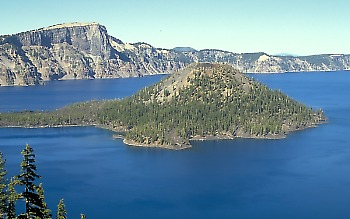 Caldera of Crater Lake, Oregon