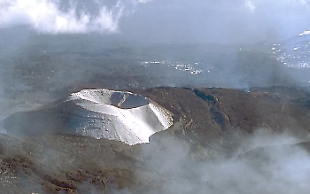 Cinder cone on Mount Etna, Italy