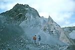 Internal rock layers of a hummmock, Mount St. Helens, Washington