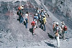 Landslide deposit at Mount St. Helens, Washington
