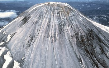 Summit lava dome of Mount St. Helens prior to 1980