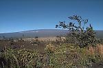 View of Mauna Loa Volcano toward the west from the Hawaiian Volcano Observatory