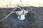 Gas-accumulation chamber for measuring soil-gas efflux