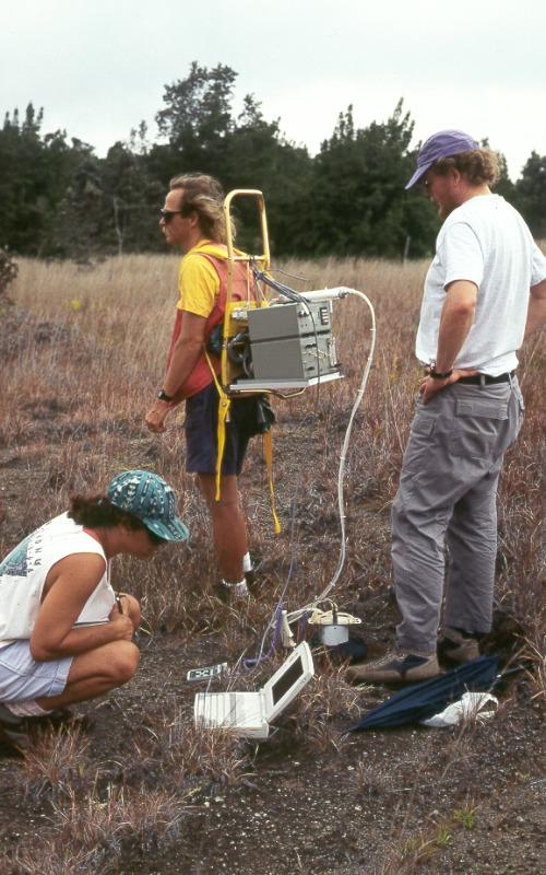 Soil Gas Soil Surface as The Gas