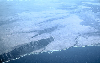 Hilina fault system, Kilauea Volcano, Hawai`i