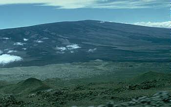 Mauna Loa shield volcano, Hawai`i