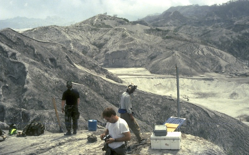 Mount Pinatubo 1991 Eruption Philippines