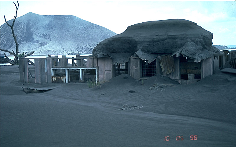 Volcanic Ash Roofs And Buildings May Collapse