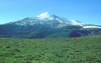Nevado del Ruiz volcano, Colombia