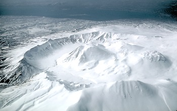 Caldera of Ugashik volcano, Alaska