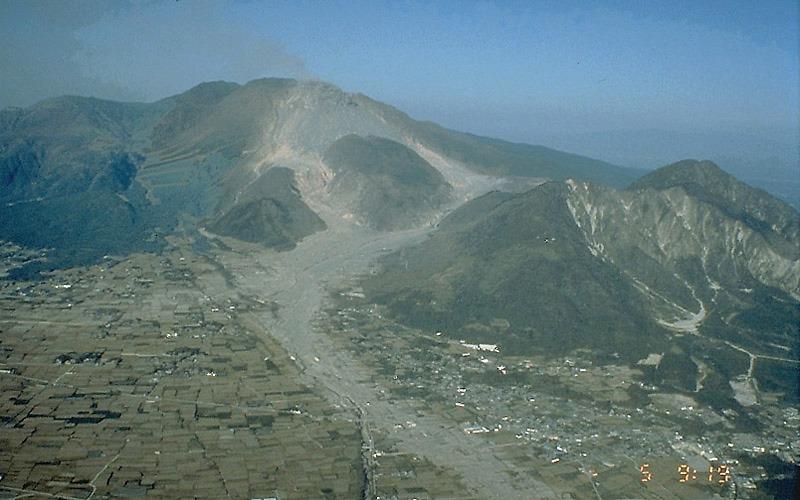 Unzen Volcano, Japan 2011