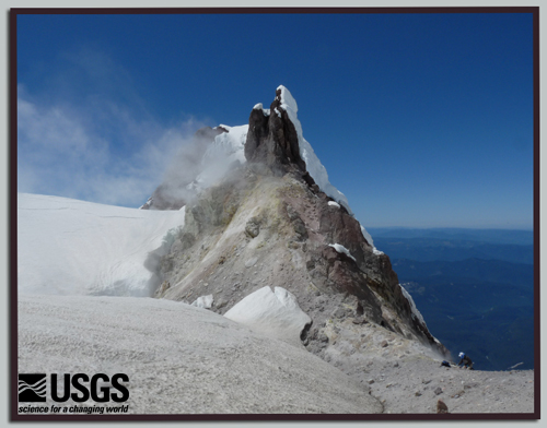 Collecting Volcanic Gas Samples on Mount Hood, Oregon