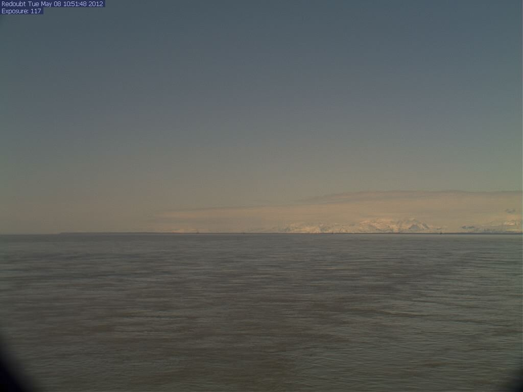 Webcam volcano Mount Redoubt - Alaska
