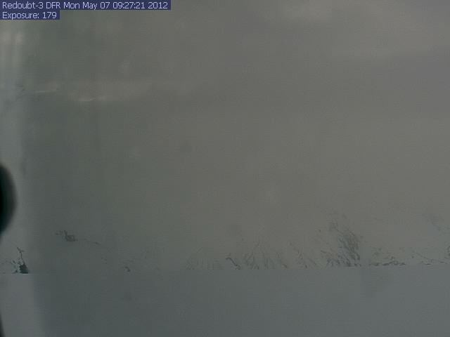 Mount Redoubt - DFR Web Cam