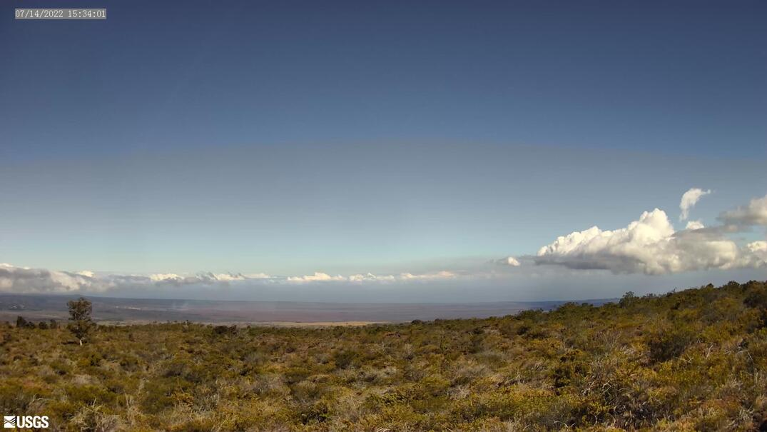 Kīlauea Summit from Mauna Loa Road [KPcam] preview image