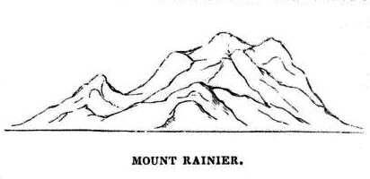 Cascades volcano observatory history charles wilkes us mount rainier outline pronofoot35fo Images