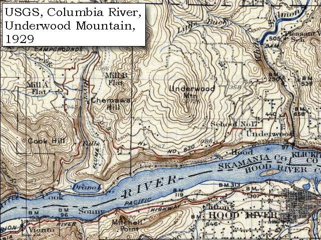 The Volcanoes Of Lewis And Clark October - Topographic map of us mountain ranges
