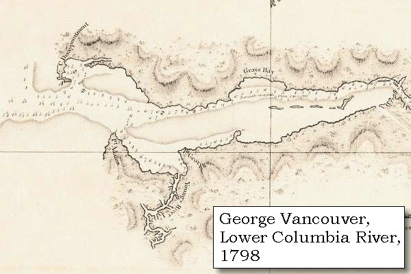 map 1798 mouth of the columbia river click to enlarge
