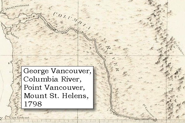 The Volcanoes of Lewis and Clark  The Columbia River and