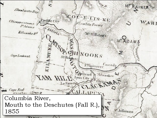 enlarge map 1855 columbia river vancouver to the pacific click to enlarge
