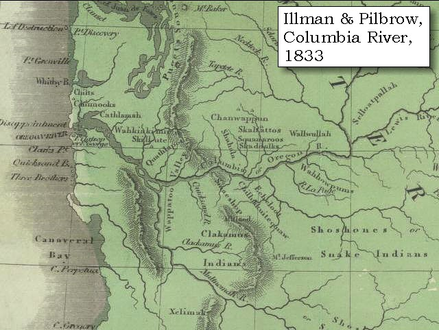 Map 1833 illman and pilbrow columbia river click to enlarge