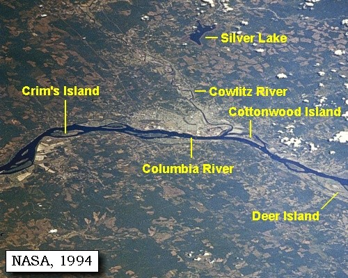 The volcanoes of lewis and clark november 6 1805 for Nisqually river fishing report