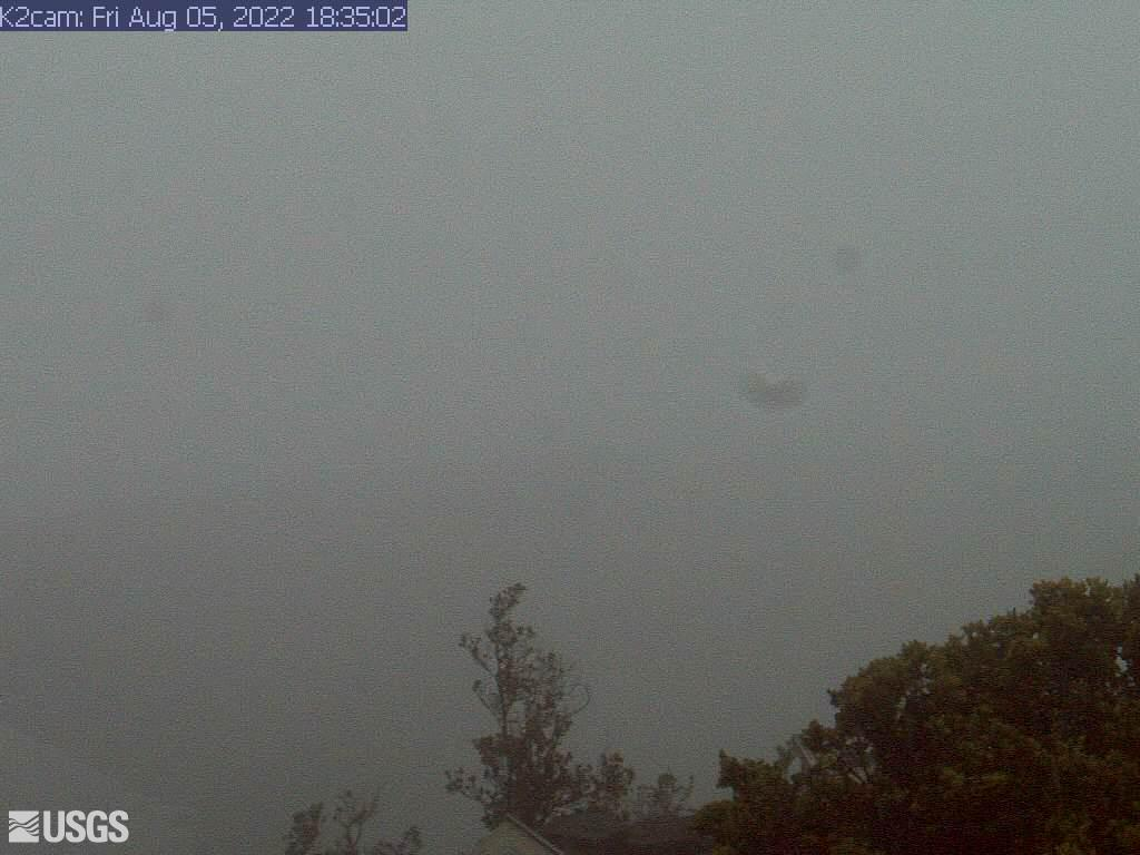 Hawaii Volcanoes National Park Kilauea Halema'uma'u crater live webcam