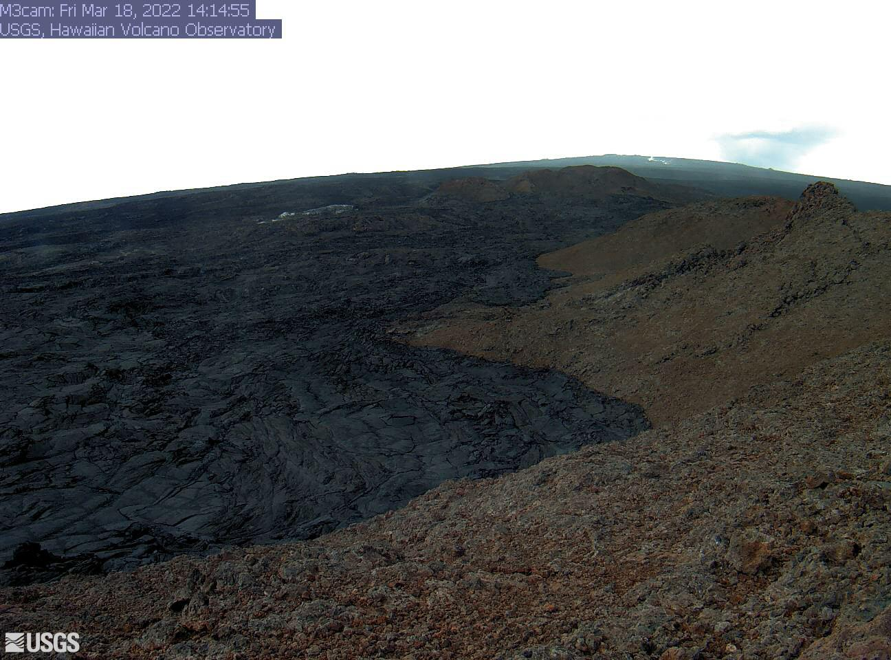 Upper Part of Mauna Loa Southwest Rift Zone [M3cam] preview image