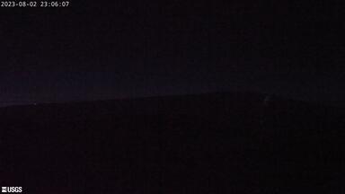webcam image of shield volcano