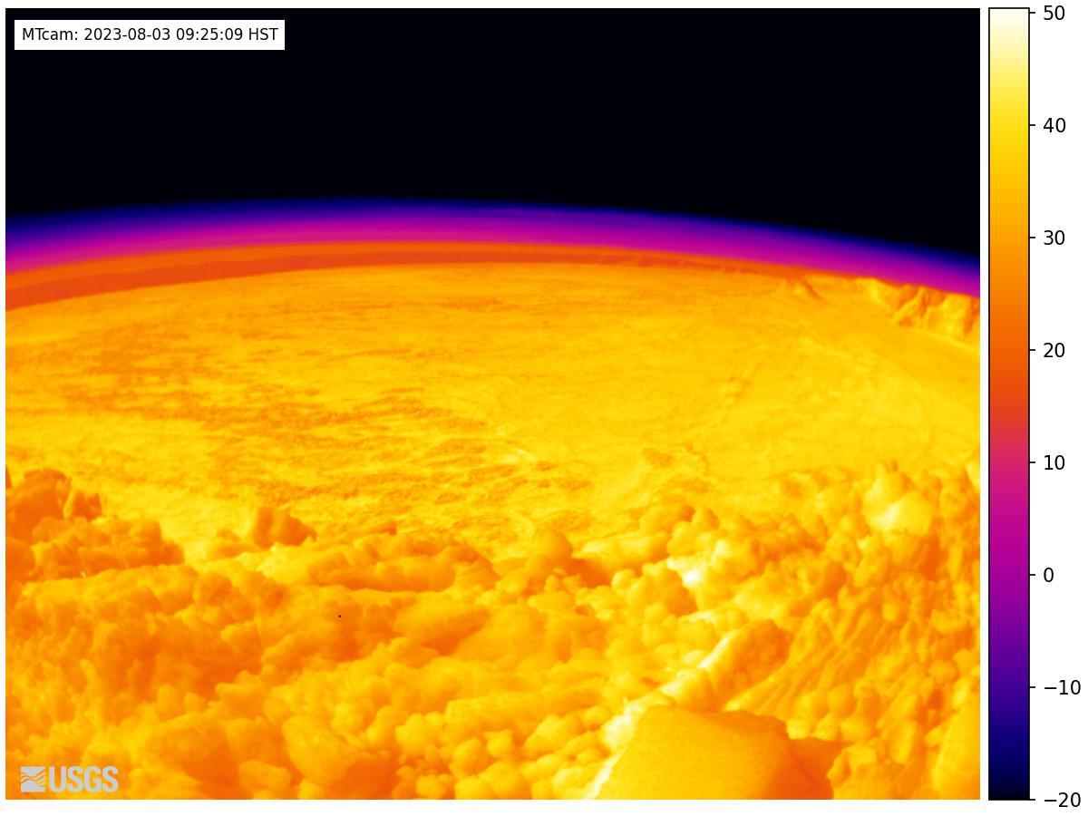 Mauna Loa Thermal - Web Cam