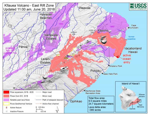 USGS Volcano Hazards Program HVO Kilauea
