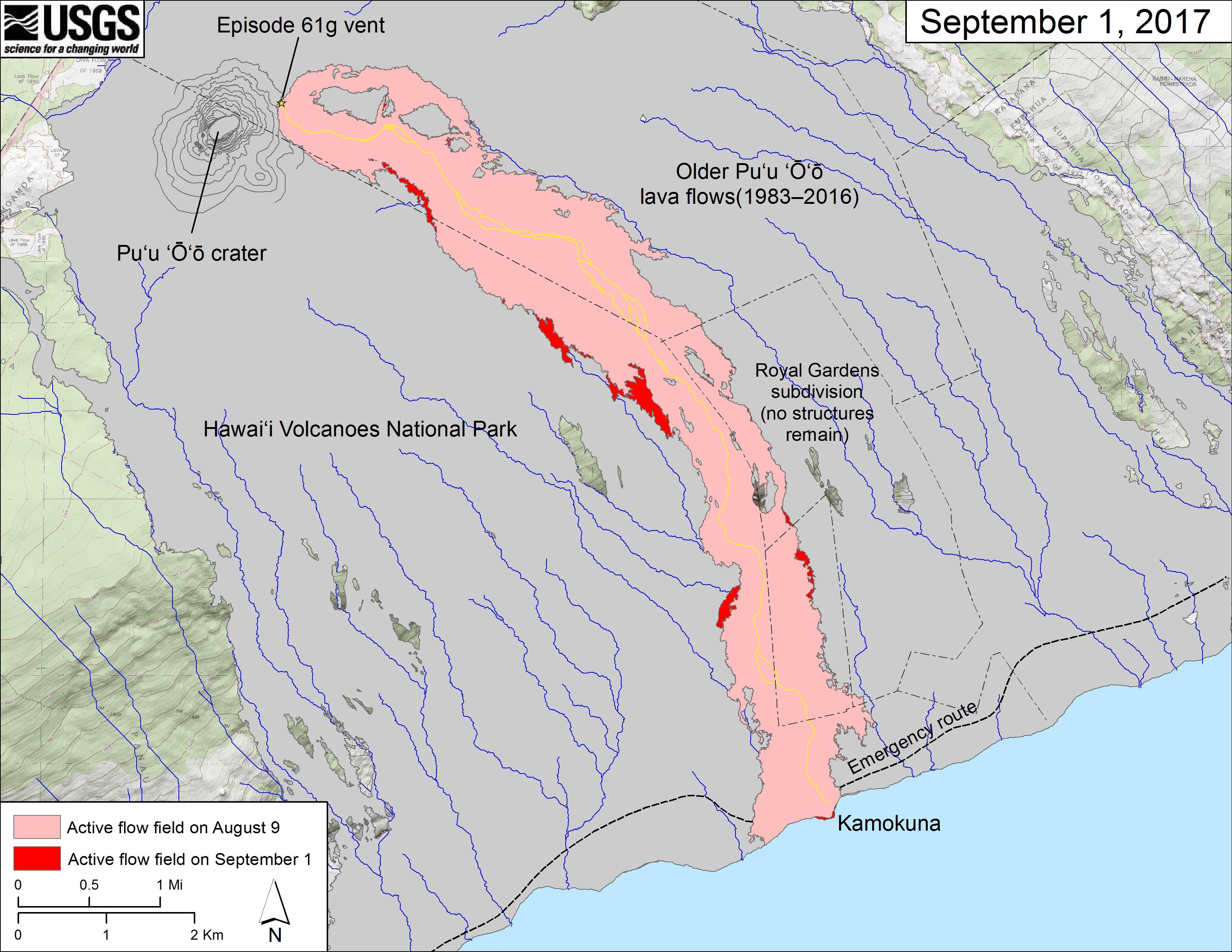 Map Of Flow Field