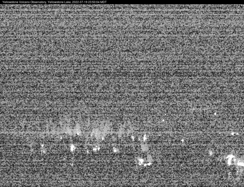 View of Yellowstone Lake near Fishing Bridge