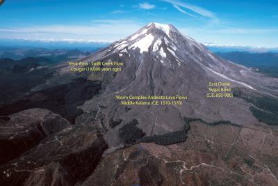 "dating of mt st helens lava flows (such as the eruption of mt st helens)  with radiometric dating of rocks: grand canyon lava flows:  on "" the end of long age radiometric dating."