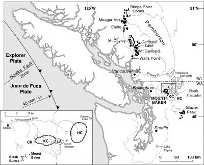 geology and history summary for mount baker