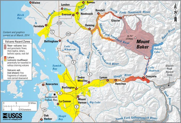 USGS: Volcano Hazards Program CVO Mount Baker
