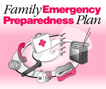 Family Emergency Preparedness Plan (Click image to view full size.)