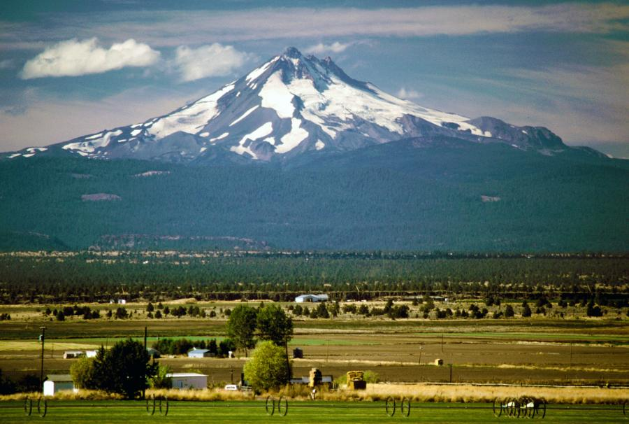 Mount Jefferson, OR From the East