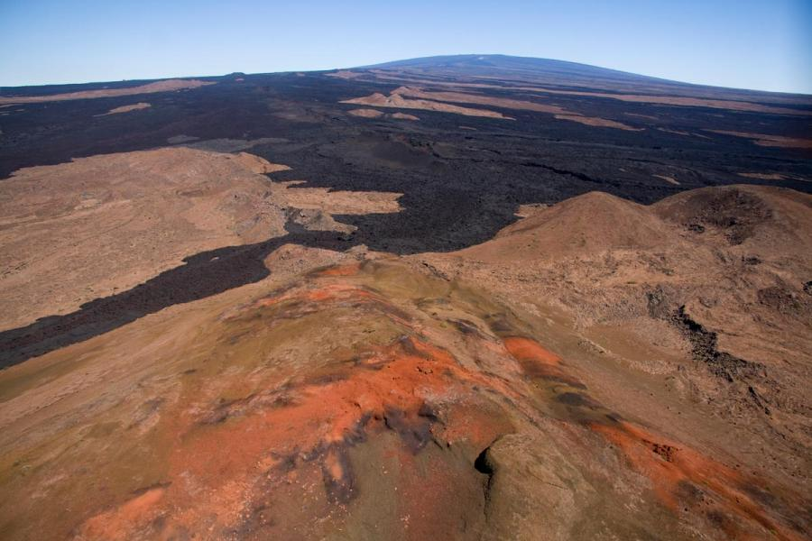 Spectacular views of Mauna Loa's Southwest and Northeast Rift Zones