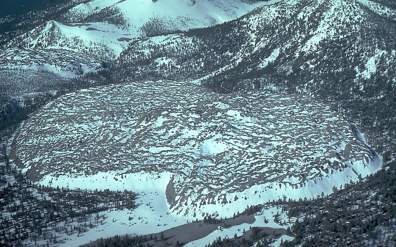 Resultado de imagen de Caldera de Long Valley