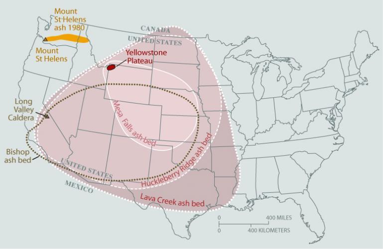 Yellowstone Super Volcano Fallout