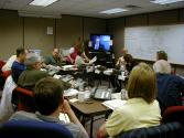 Emergency response planning exercise for a volcanic event with Washington State and local government officials.