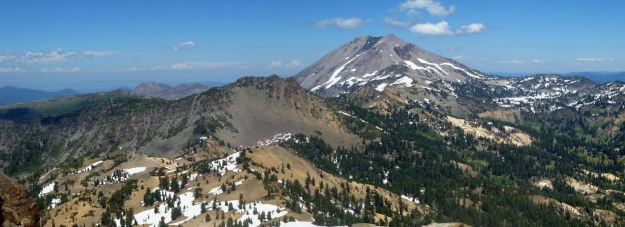 Lassen Peak, CA From the South