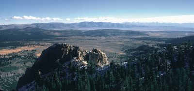 Long Valley Caldera (Click image to view full size.)