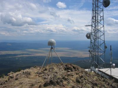 GPS station P361, on Sawtell Peak (Click image to view full size.)