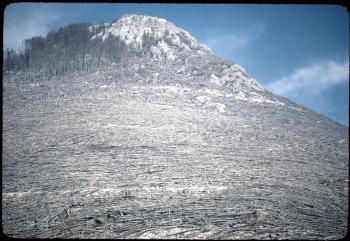 Mount st helens eruption carbon dating