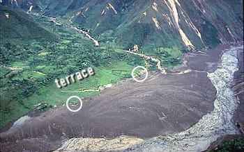 Town of Toez hit by lahar, R?o Paez, Colombia