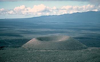 Cinder cone on Mauna Kea Volcano, Hawai`i.