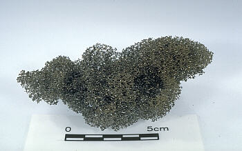 Photo: reticulite erupted from Kilauea Volcano, Hawai`i