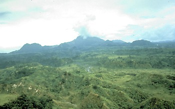 Mount Pinatubo, Philippines before eruption on June 15, 1991